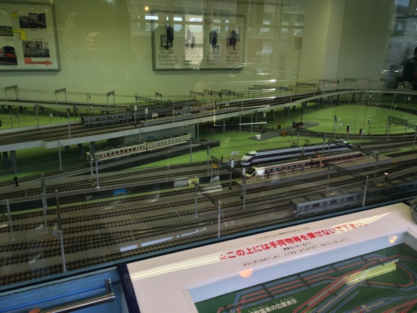 東武博物館 模型