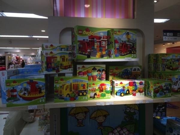 東武百貨店のおもちゃ売り場