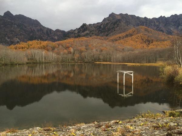 戸隠の鏡池