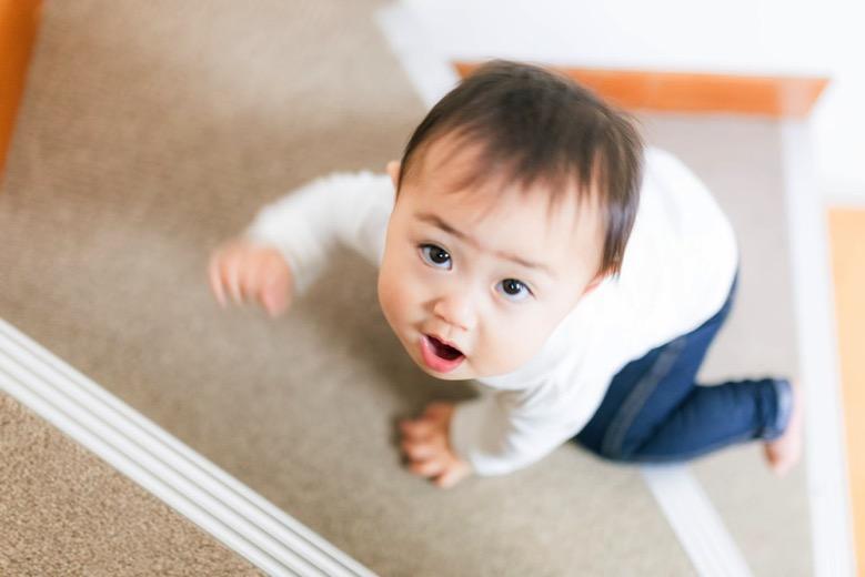 赤ちゃん階段