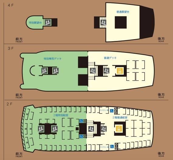 箱根海賊船特別船室