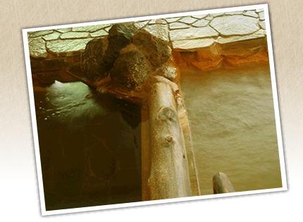 岩屋館の温泉