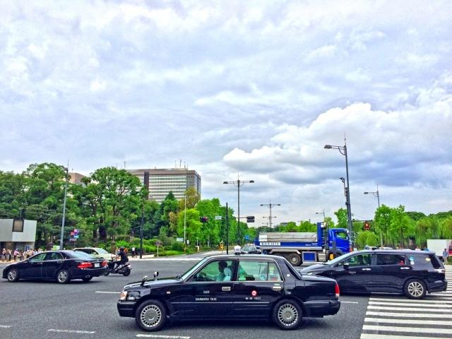 東京駅からスカイツリーまでタクシー