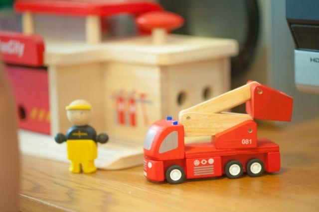 消防車の絵本