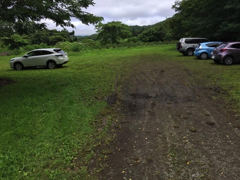 もろこし村の駐車場