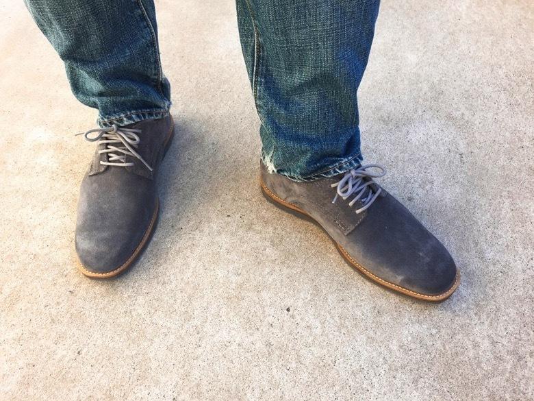 ロックポートの靴
