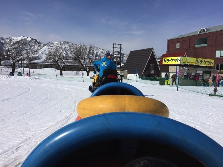 湯沢中里スキー場のジェットトレインパーク