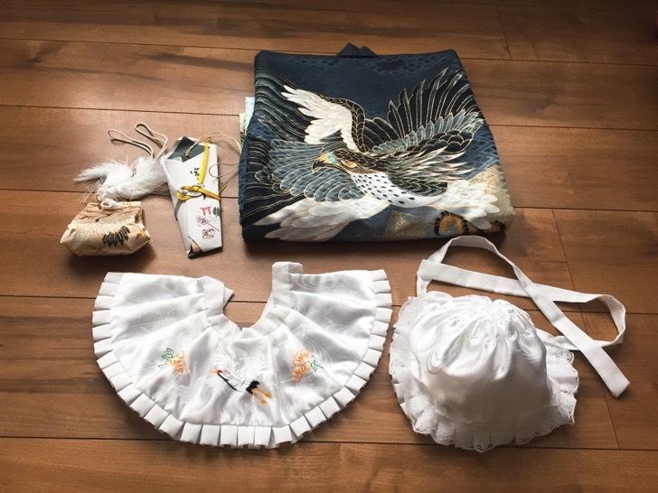 スタジオアリスのお宮参りのレンタル衣装