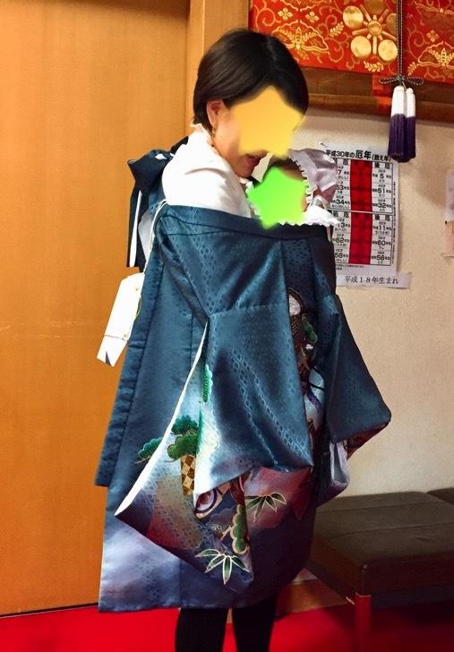 スタジオアリスの祝着のレンタル衣装