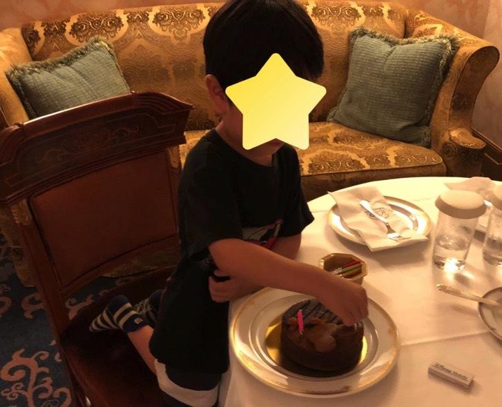 ミラコスタで誕生日