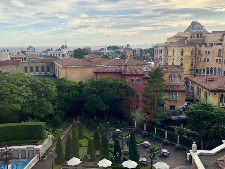 ホテルミラコスタのヴェネツィア・サイド