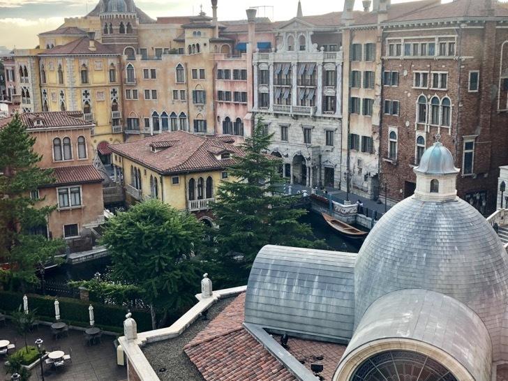 ミラコスタのヴェネツィア・サイド