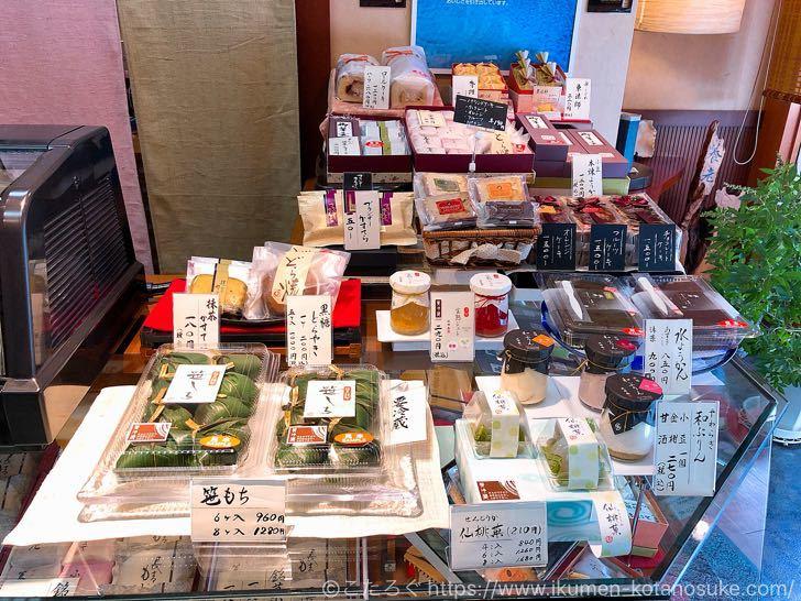 【妙高】養老本舗 池田屋|絶品の和菓子と和のチーズケーキが美味しい老舗